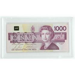 Bank of Canada 1988 One Thousand Dollar Note. (EKA
