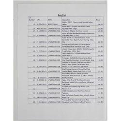 (BOX 128) Box Lot - General Merchandise as per lis