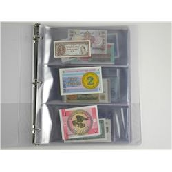 World Paper Money Collection 50 UNC Notes, 50 Coun