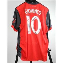 Sebastian Giovinco Toronto FC Jersey Signed with C