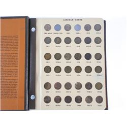 Estate - Lincoln Cent Collection, Brown Book. CAT