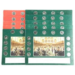 Lot (10) Early Canada Art Boards with 25 Cent Coll