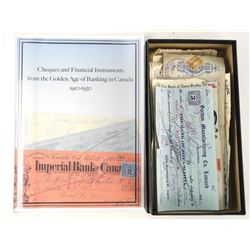Golden Age of Banking 50pc Collection Cheques and