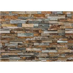 WallPops! Colorful Stone 9' x 96 Wall Mural (WPP18
