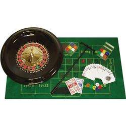 Trademark Poker 16-Inch Deluxe Roulette Set with A