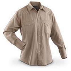 Wrangler Men's Tall Sport Western Snap Shirt Dobby