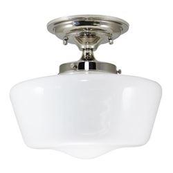 iLightingSupply F21616-22 Semi-Flush Opal Glass Sc