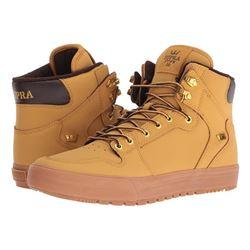 SUPRA Vaider Cold Weather Skate Shoe- Amber Gold-L