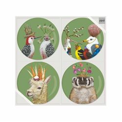 """Paperproducts Design 603149 7"""" Set of 4 with Frol"""