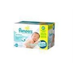 Pampers Baby Wipes Sensitive UNSCENTED 16X Refill