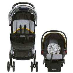 Graco LiteRider LX Travel System with SnugRide Cli