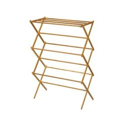 Household Essentials Bamboo Clothes Dryer