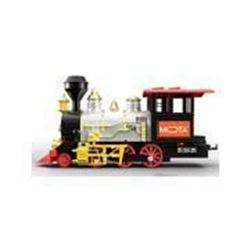 MOTA Classic Holiday Train Set with Real Smoke - A