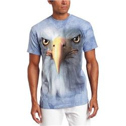 The Mountain Adult Unisex T-Shirt - Eagle Face M