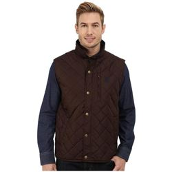 U.S. Polo Assn. Men's Diamond Quilted Vest with Co