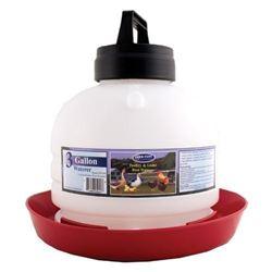 Farm Tuff 3 Gallon Top Fill Poultry Fountain