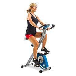 XTERRA Fitness FB150 Folding Exercise Bike- Silver