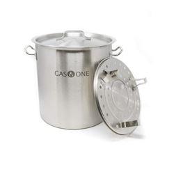 GasOne ST-24 Stainless Steel Brew Kettle Pot- 6 Ga
