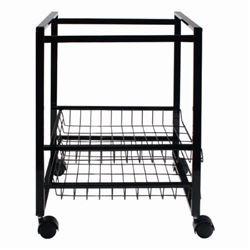 Advantus 34075 Mobile File Cart W/Sliding Baskets-