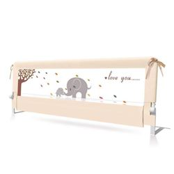 BABY BBZ 59inch Bed Rail - Single Foldable Safety