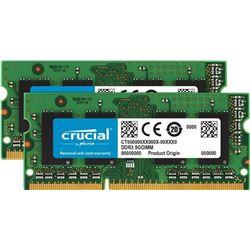 Crucial 8GB Kit (4GBx2) DDR3/DDR3L 1600 MT/S (PC3-