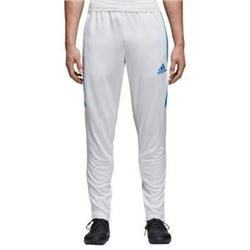 adidas Men's Soccer Tiro 17 Training Pants- White/