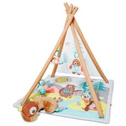 """Skip Hop Camping Cub Baby Play Mat Activity Gym- 36"""" x 38""""h- Multi Colored"""
