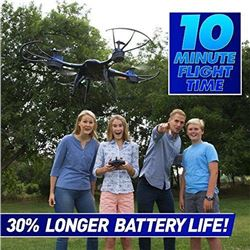 National Geographic Quadcopter Drone - With Auto-Orientation and 1-Button Take-Off for Easy Drone Fl