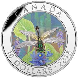 2015 $10 Dragonfly: Pygmy Snaketail - Pure Silver