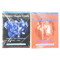 Lot (2) Hockey History Yearbooks TML: 1961-1962, M