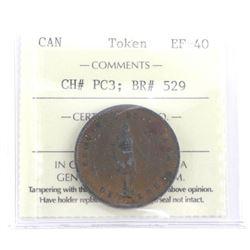 Token Canada CH# PC32; BR# 529. EF-40. ICCS