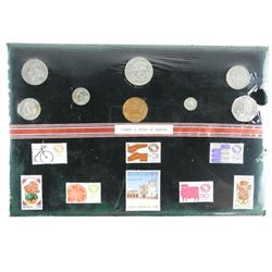 Stamps and Coins of Mexico