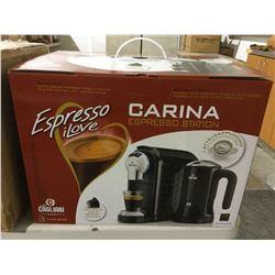 Espresso iLove Carina Espresso Station in Black