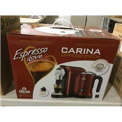 Espresso iLove Carina Espresso Station in Red