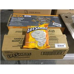 Case of Lifesavers Orange-O-Mint (12 x 150g)