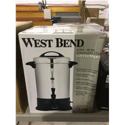 West Bend 10L Stainless Steel Coffee Maker