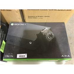 Xbox One X 1 TB Console in box