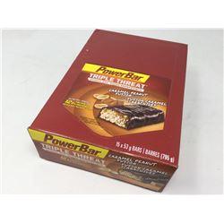 Case of Power Bar Caramel Peanut Fusion Bars (15 x 53g)