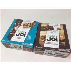 Lot of Kashi Joi Cranberry Coconut Almond (12 x 40g) & Dark Chocolate Espresso Nut Bars (12 x 55g)
