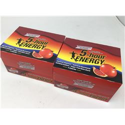 Lot of 5 Hour Energy Pomegranate Flavour (12 x 2 x 57ml)