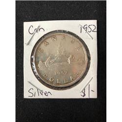 1952 CANADIAN SILVER DOLLAR