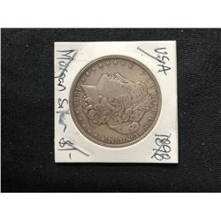 1898 USA MORGAN SILVER DOLLAR