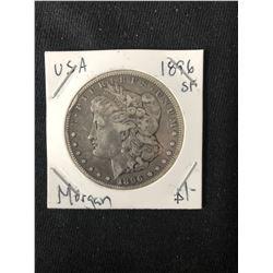 1896 USA MORGAN SILVER DOLLAR (MINTED SAN FRANCISCO)