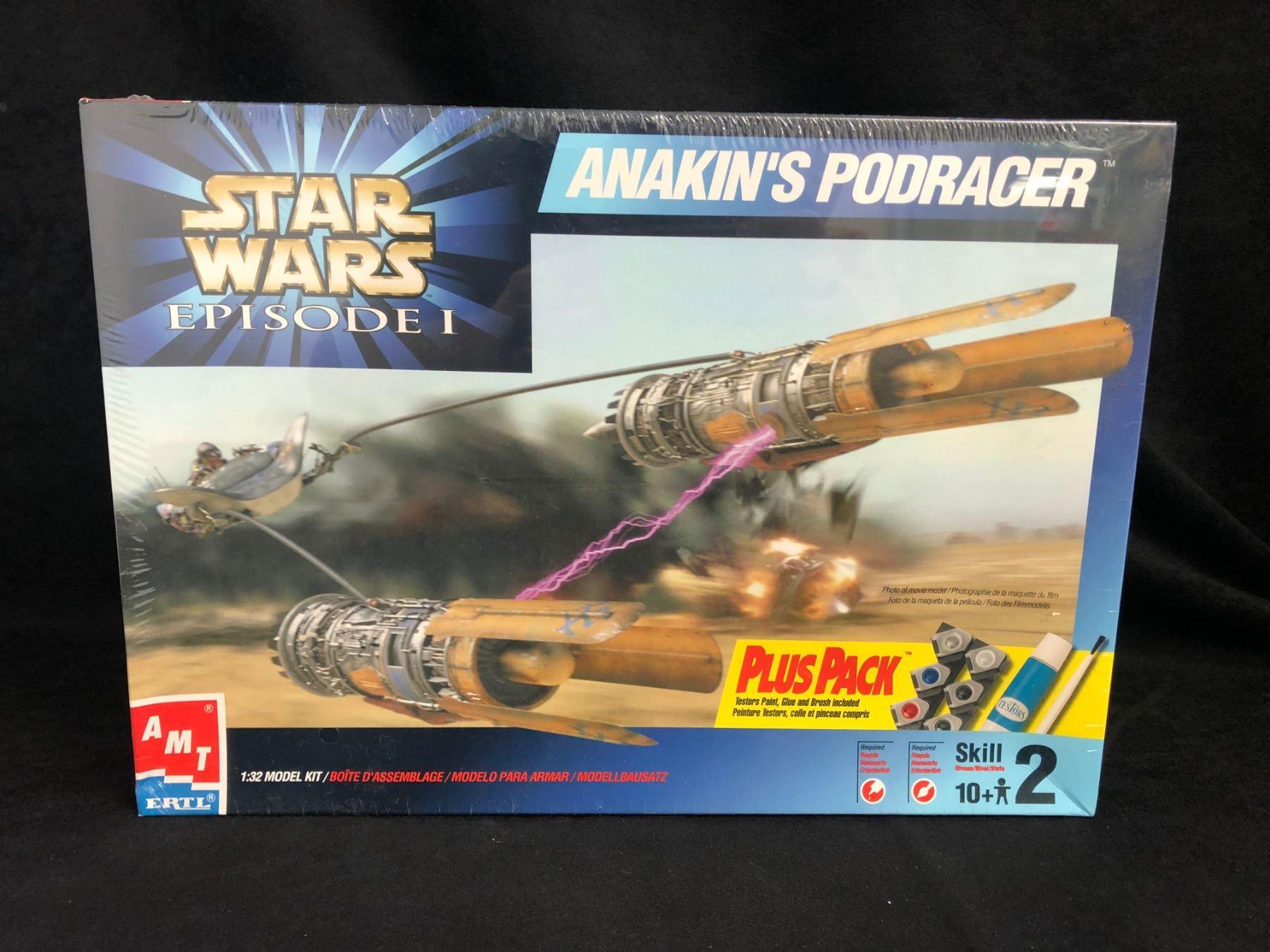 AMT Star Wars Anakin's Podracer 1/32 Plastic Model Kit (1999)