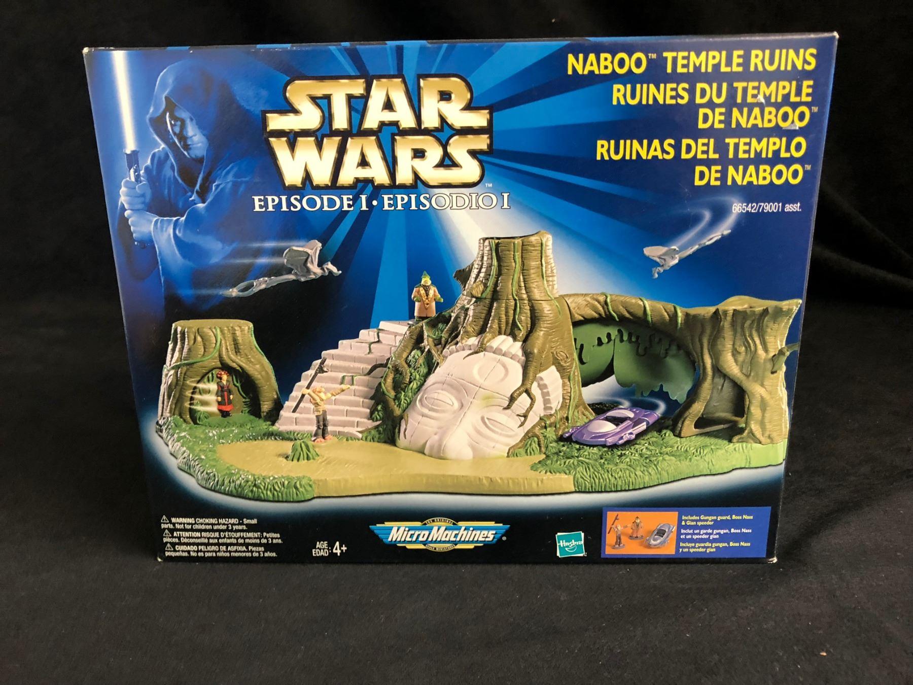 Star Wars Episode I Micro Machines Naboo Temple Ruins