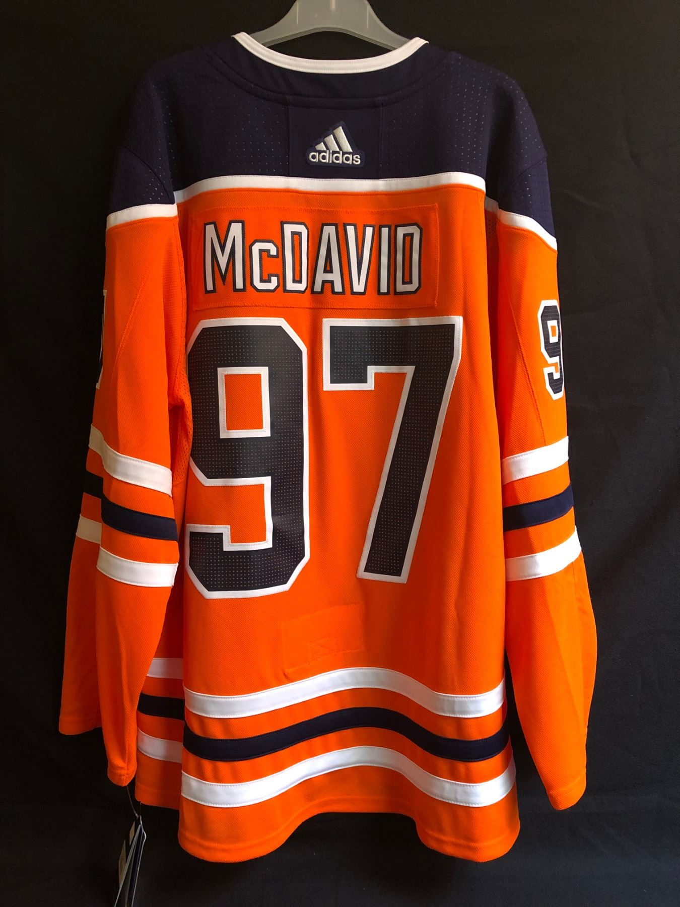 low priced 5c625 ee2cd CONNOR McDAVID EDMONTON OILERS ADIDAS HOCKEY JERSEY (SIZE 52)