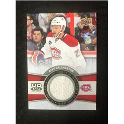 2015-16 Upper Deck Series 1 UD Game Jersey Alex Galchenyuk Montreal Canadiens
