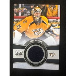 PEKKA RINNE 2015-16 UPPER DECK SERIES 1 UD GAME JERSEY