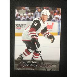 2015-16 Upper Deck Max Domi Young Guns RC #204