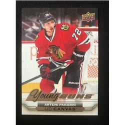 2015-16 Upper Deck UD Canvas #C108 Young Guns Artemi Panarin